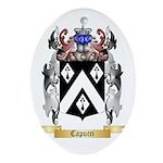Capucci Ornament (Oval)