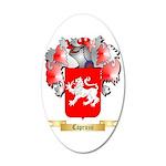 Capruzzi 35x21 Oval Wall Decal