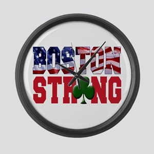 Boston Strong Large Wall Clock