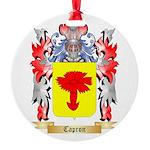 Capron Round Ornament