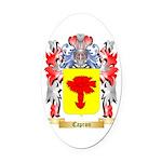 Capron Oval Car Magnet