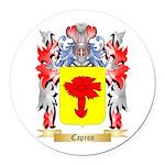 Capron Round Car Magnet
