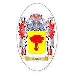 Capron Sticker (Oval 50 pk)