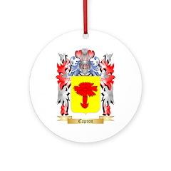 Capron Ornament (Round)