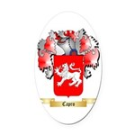 Capro Oval Car Magnet