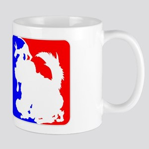 Red & Blue Sporty Omaha Hare Mug