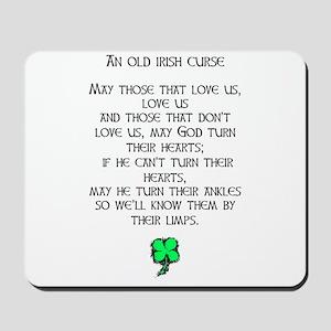 IRISH CURSE Mousepad
