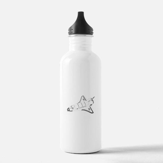 Space Shuttle Water Bottle