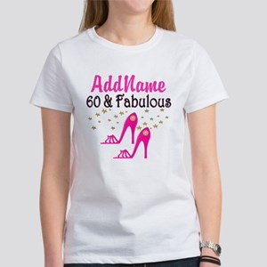 60 YR OLD SHOE QUEEN Women's T-Shirt