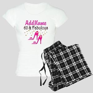 60 YR OLD SHOE QUEEN Women's Light Pajamas