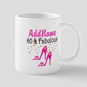60 YR OLD SHOE QUEEN Mug