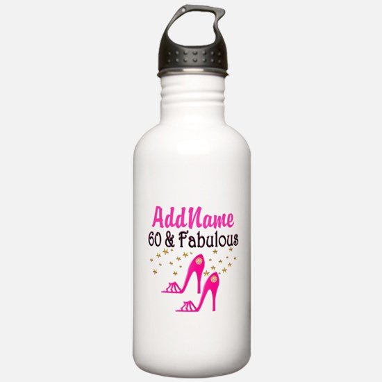 60 YR OLD SHOE QUEEN Water Bottle