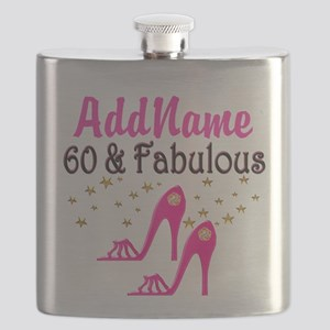 60 YR OLD SHOE QUEEN Flask