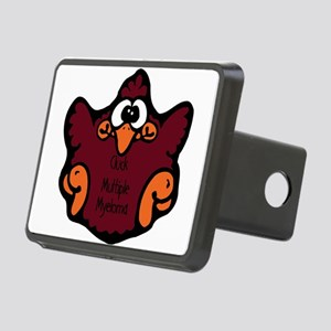 cluck-multiple-myeloma Rectangular Hitch Cover