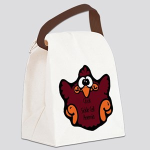 cluck-sickle-cell-anemia Canvas Lunch Bag