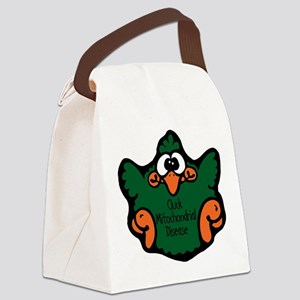 cluck-mitochondrial-disease Canvas Lunch Bag