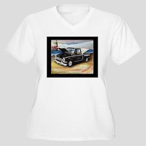 df4414b47ff Vintage Trucks Women s Plus Size T-Shirts - CafePress