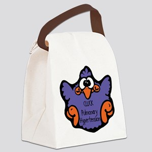 cluck-pulmonary-hypertensio Canvas Lunch Bag
