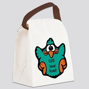 cluck-sexual-assault Canvas Lunch Bag