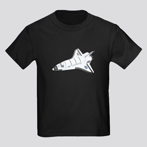 Space Shuttle Kids Dark T-Shirt
