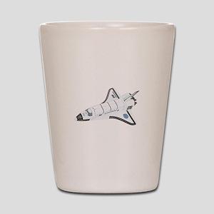 Space Shuttle Shot Glass