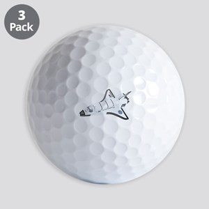 Space Shuttle Golf Balls