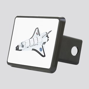 Space Shuttle Rectangular Hitch Cover