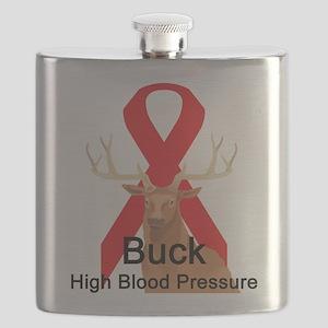 buck-high-blood-pressure Flask