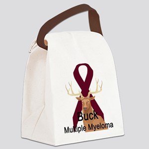 buck-multiple-myeloma Canvas Lunch Bag