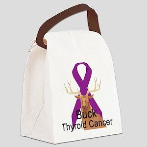 buck-thyroid-cancer Canvas Lunch Bag