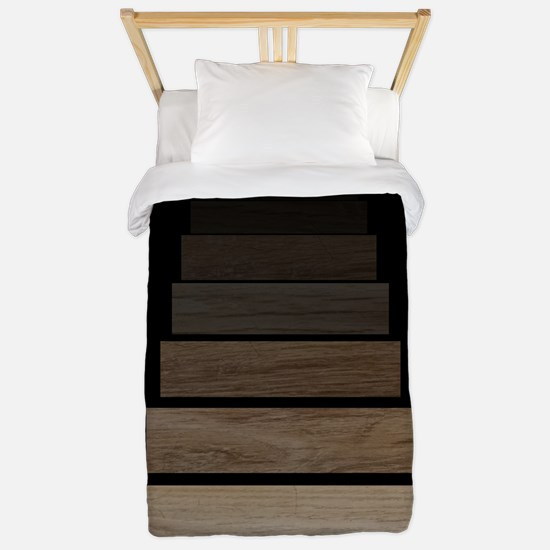Staiway to darkness II Twin Duvet