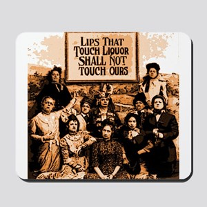 Temperance Ladies Mousepad