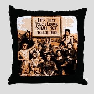 Temperance Ladies Throw Pillow