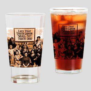 Temperance Ladies Drinking Glass