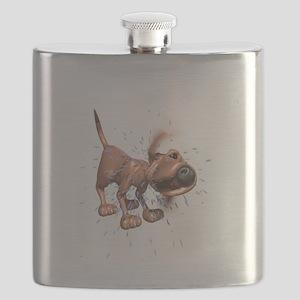 dog-shaking Flask