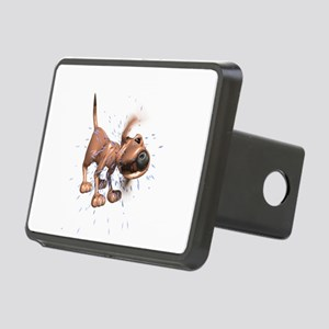 dog-shaking Rectangular Hitch Cover
