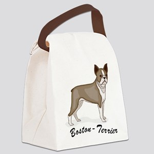 boston-terrier,png Canvas Lunch Bag