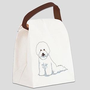 bichon-frise Canvas Lunch Bag