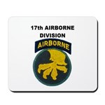 17TH AIRBORNE DIVISION Mousepad