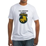 17TH AIRBORNE DIVISION Fitted T-Shirt
