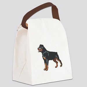 rotti,png Canvas Lunch Bag