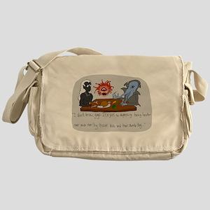 Mealtime Reflection Messenger Bag