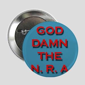 """Damn the NRA 2.25"""" Button"""
