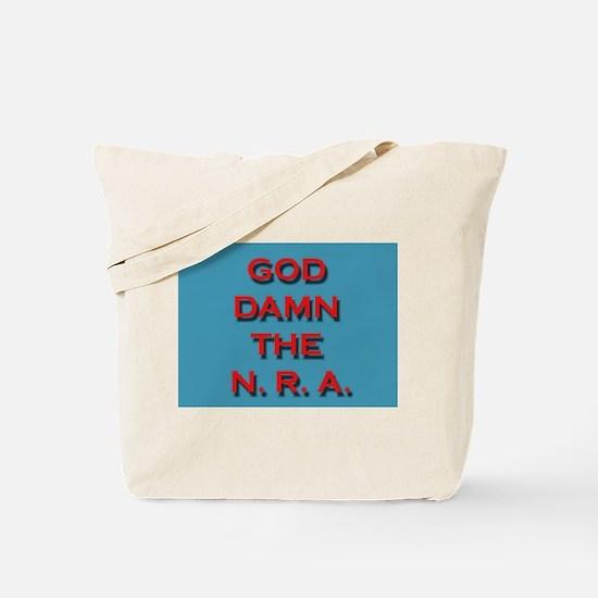 Damn the NRA Tote Bag