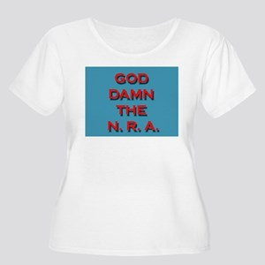Damn the NRA Plus Size T-Shirt