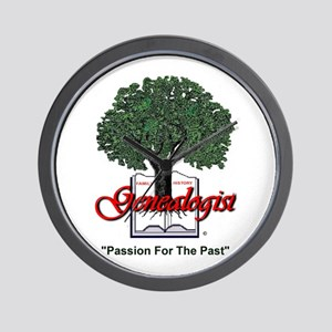 Passion For The Past Wall Clock