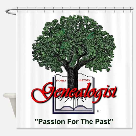 Passion For The Past Shower Curtain