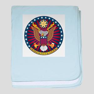 Ameristralia Seal baby blanket