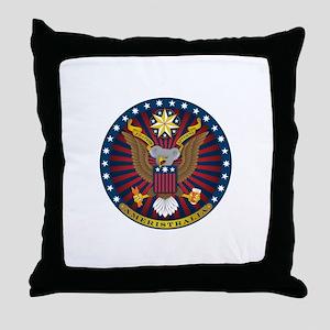Ameristralia Seal Throw Pillow