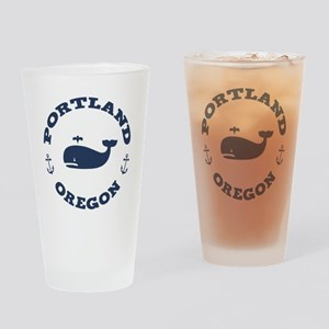 Portland Whaling Drinking Glass